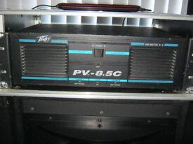 PEAVEY PV.8.5c POWER AMPLIFIER for disco party dj studio