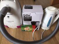Coffee Machine - Kettle - Vacuum Cleaner