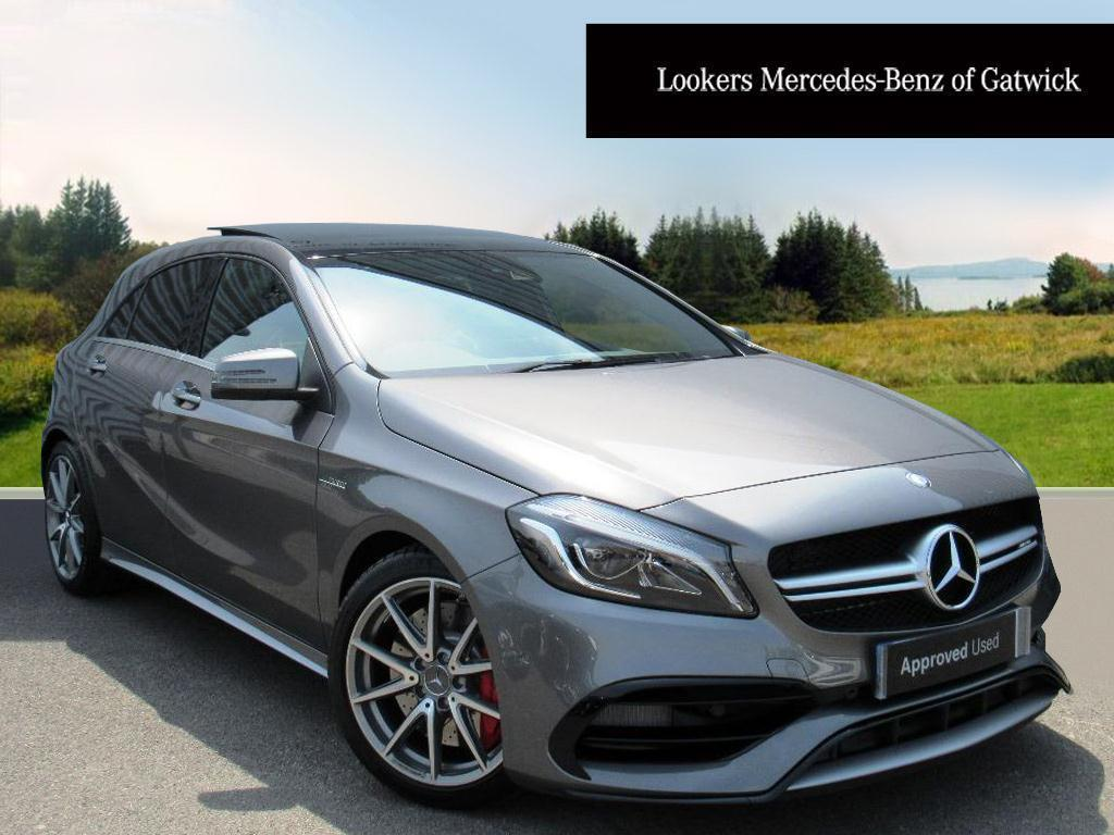 mercedes benz a class a45 amg 4matic grey 2017 06 09 in crawley west sussex gumtree. Black Bedroom Furniture Sets. Home Design Ideas