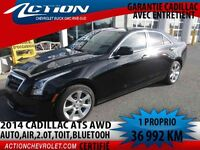 2014 CADILLAC ATS Sedan AWD auto,air,2.0t,bluetooth