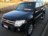 2008 MITSUBISHI PAJERO/SHOGUN DIAMOND 3.2 DID LEFT HAND DRIVE LHD 7 SEATS LOADED FULLY LODED FSH