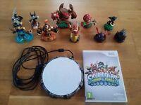 Skylanders Wii game, portal and figures