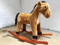 Kids small rocking horse