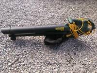 Dobbies leaf blower 2500w