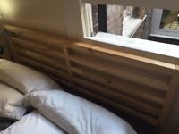 IKEA TARVA King sized solid wood bed frame