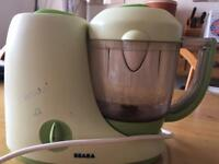 Baby weaning - Béaba Babycook steamer and Blender