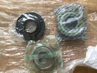 Miele W844 washing machine new drum bearing kit with seal.
