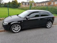AUDI A3 1.6 MPI SPECIAL EDITION - 54reg 12-months MOT -Low Mileage - S3 replica