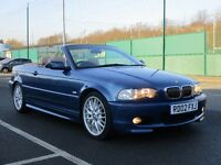 2002 BMW 325 CI SPORT CONVERTIBLE AUTO * LEATHER * M SPORT * F.S.H * LONG MOT * PX WELCOME