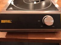 commercial induction hob buffalo 3kw