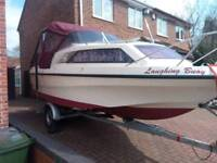 Boat Shetland family 4 with 15hp outboard