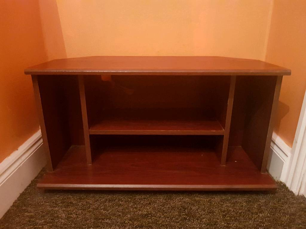 Wooden tv table stand