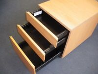 LOCKABLE 3-DRAWER OFFICE TYPE CABINET
