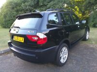 Bmw X3 4x4 Se Model Great condition Long Mot and History Top Spec