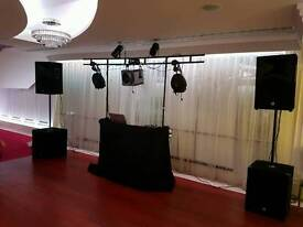 Mobile disco complete set up