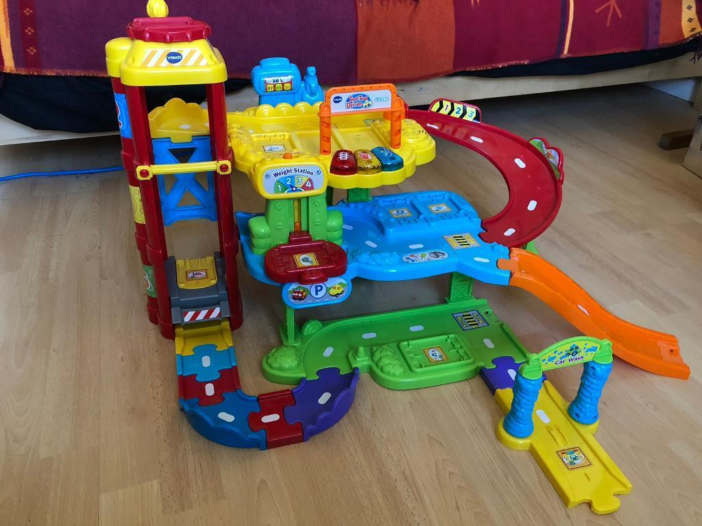 V Tech Garage : Vtech toot toot garage track and vehicles in newtownabbey