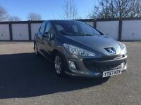 2007 57 PEUGEOT 308 HDI 110 HATCHBACK ** ONLY 93000 MILES + 12 MONTHS MOT + PANORAMIC ROOF **