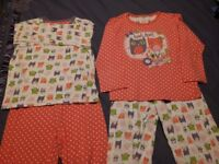 TU 2 Pairs Owl Mix and Match PJs. Size: 6 - 7 years. Very Good Condition.