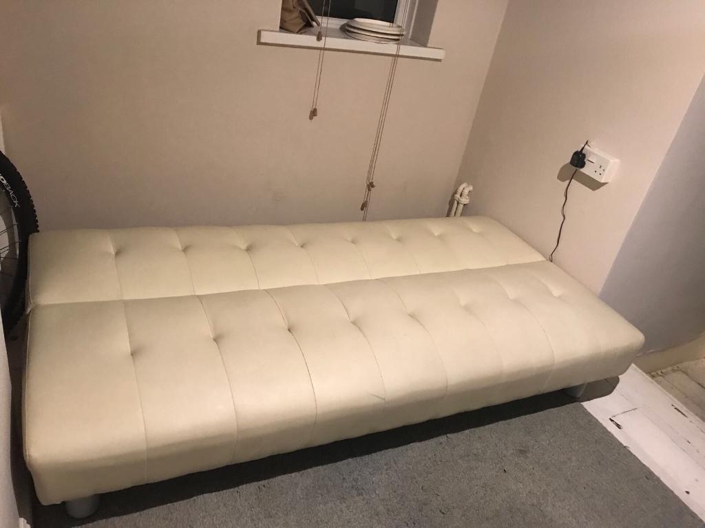 Cream Bed sofa