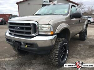 2002 Ford F-250 LIFTED 7.3L POWERSTROKE DIESEL!!!
