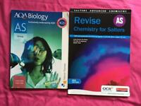 AS-Level Biology and Chemistry Revision Guides