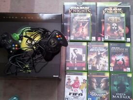 X Box original and games bundle