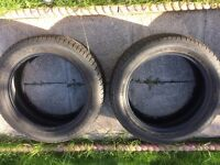 2 4x4 tyres only used for 30 miles