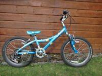 Trek MT 60 childs bike, suit age 7 to 9 years, 20 inch wheels, 6 gears, lightweight aluminium frame