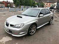 Subaru Impreza wrx STI TYPE UK 2.5 petrol turbo 2006