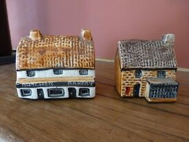 Collectible ceramic cottages/houses