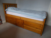 Pine single Storage Bed for sale