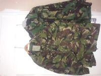 British army combat jackets x2