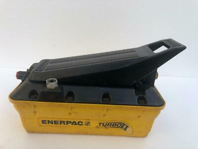 Enerpac Patg1102n Turbo 2 Air Driven Hydraulic Foot Pump 700 Bar10000 Psi 3