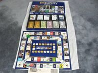 POLECONOMY THE POWER GAME 1983 - COLLECTABLE VINTAGE WOODRUSH GAME - COMPLETE IN GOOD CONDITION