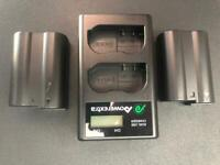 2x Nikon Batteries & USB charger
