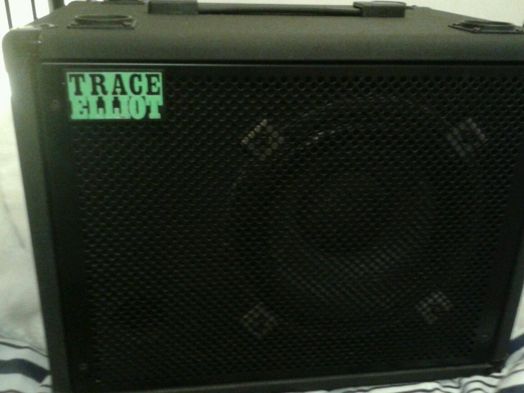 Trace Elliot 1x10 110 Bass Cabinet With 150w Celestion Speaker 8 ...