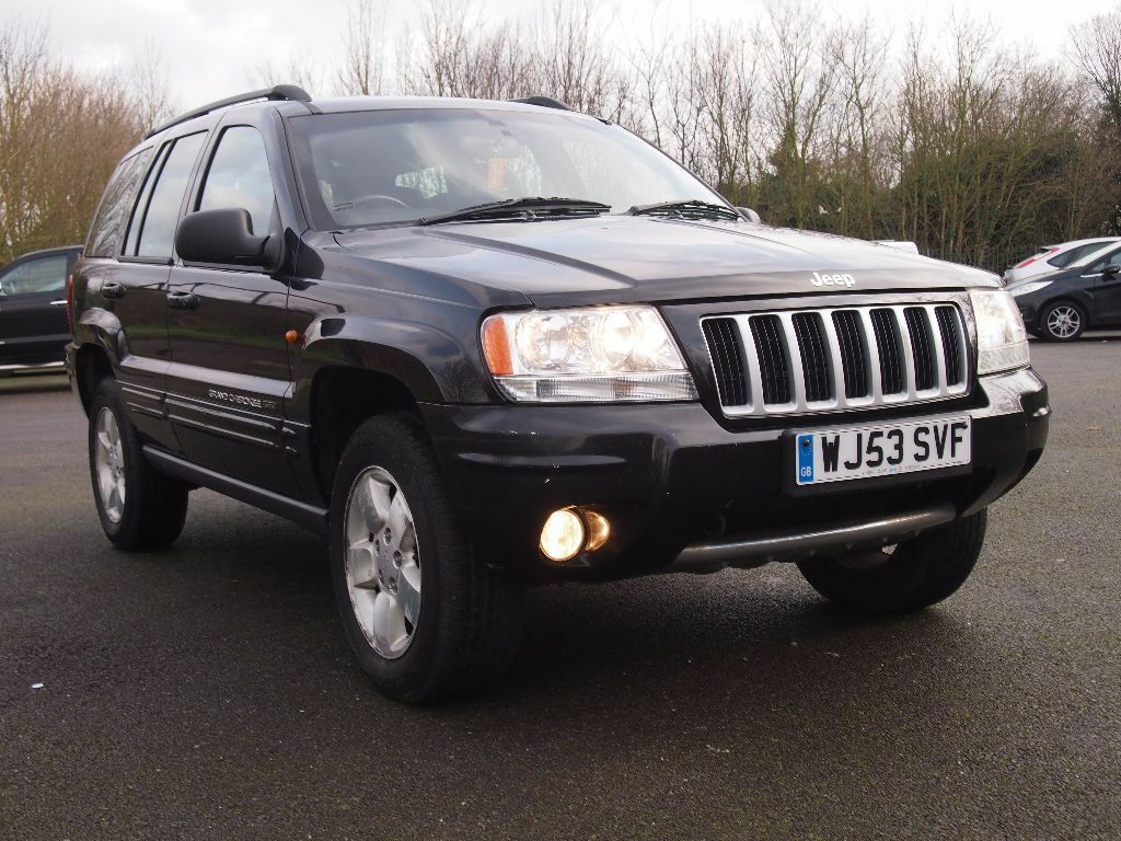 jeep grand cherokee crd limited 2 7 diesel automatic clean car in good running order with mot. Black Bedroom Furniture Sets. Home Design Ideas