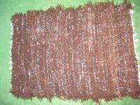 Thick Brown Woolen Mat