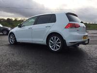 OCT 2014 VW Volkswagen Golf GTTDi Blue Motion 2.0L Diesel 4 Door