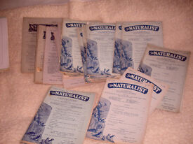 THE NATURALIST MONTHLY & QUARTERLY JOURNALS FROM 1928 -1966-PRINCIPALLY FOR THE NORTH OF ENGLAND