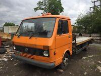 Vw lt40 classic breakdown recovery truck winch lights xl ramps barnfind project cheap insurance