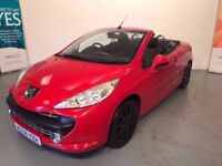 PEUGEOT 207 1.6 16V GT CONVERTIBLE..GRAB A WINTER BARGAIN , Hard to roof , all the benefits + more