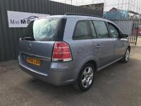 VAUXHALL ZAFIRA 1.8 7 SEATER ONE OWNER CAR