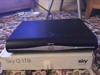 Sky+ HD WIFI box and remote