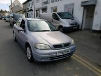 AUTOMATIC. VAUXHALL ASTRA. 1.6 PETROL. BRAND NEW 12 MONTHS MOT. DRIVES SUPERB
