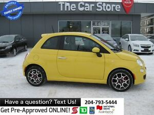 2012 Fiat 500 Sport AUTO - BLUETOOTH, 1OWNER, NO ACCIDENTS