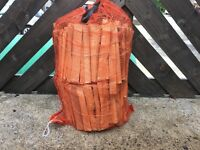 5x Large sacks of kindling for sale