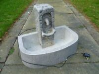 WATER FEATURE FOR GARDEN OR PATIO