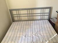 Double Metal Bed Frame & Mattress's