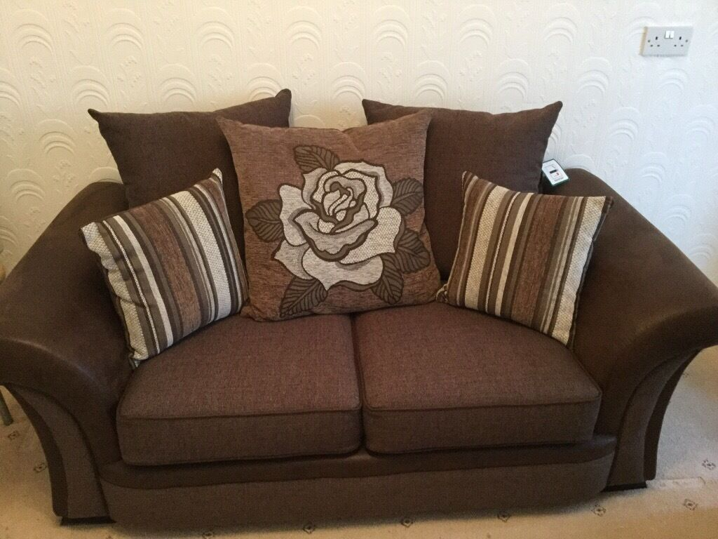 Scs Bedroom Furniture Scs Piper 2 Seater Scatter Back Sofa In Peterlee County Durham